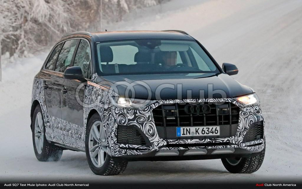 Audi SQ7 Test Mule Spied