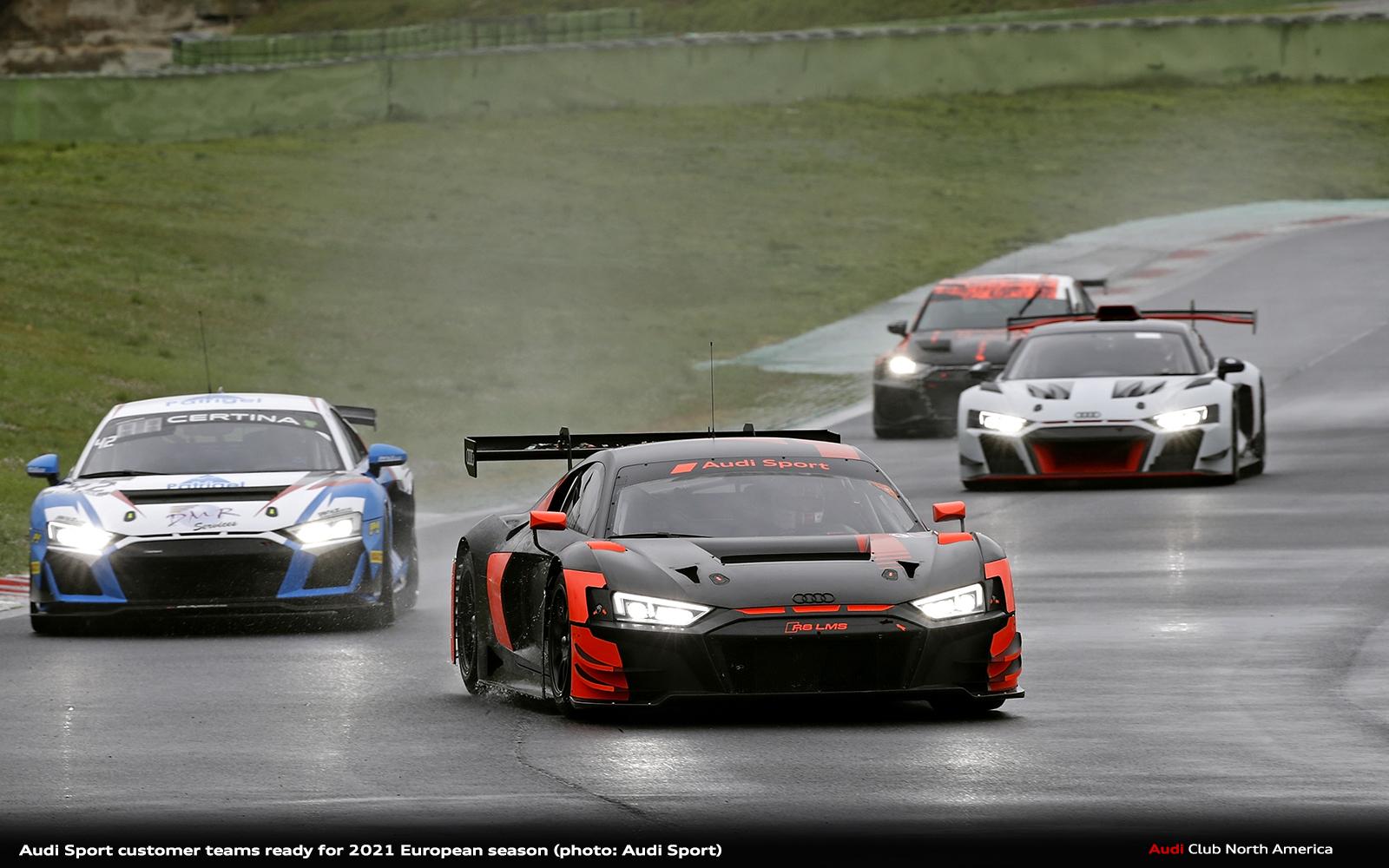 Audi Sport Customer Teams Ready for 2021 European Season