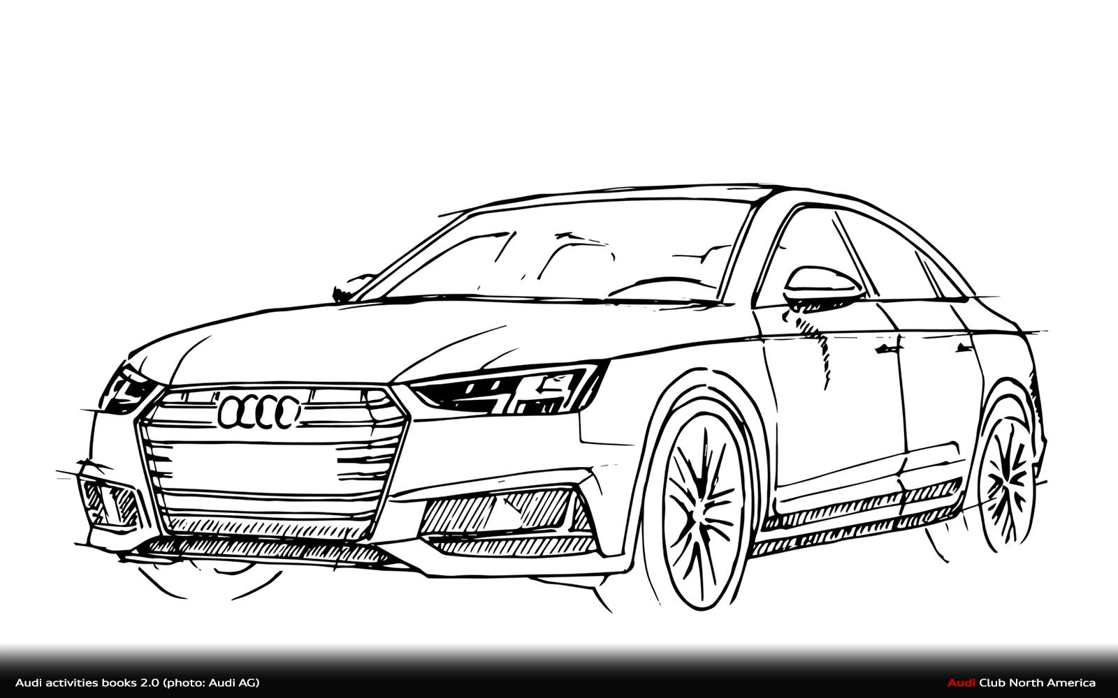 Choice Gear Audi Activity Books 2 0 Audi Club North America