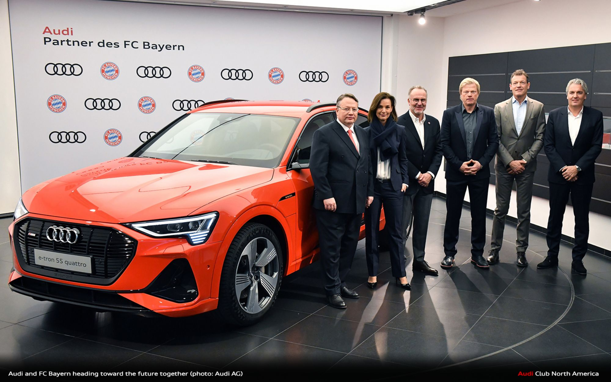 Audi and FC Bayern Heading Toward The Future Together