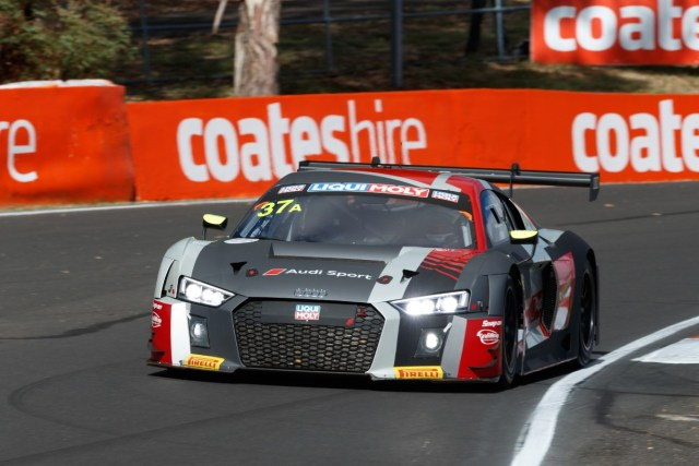 Audi on the Front Row of the Grid for Bathurst 12 Hour
