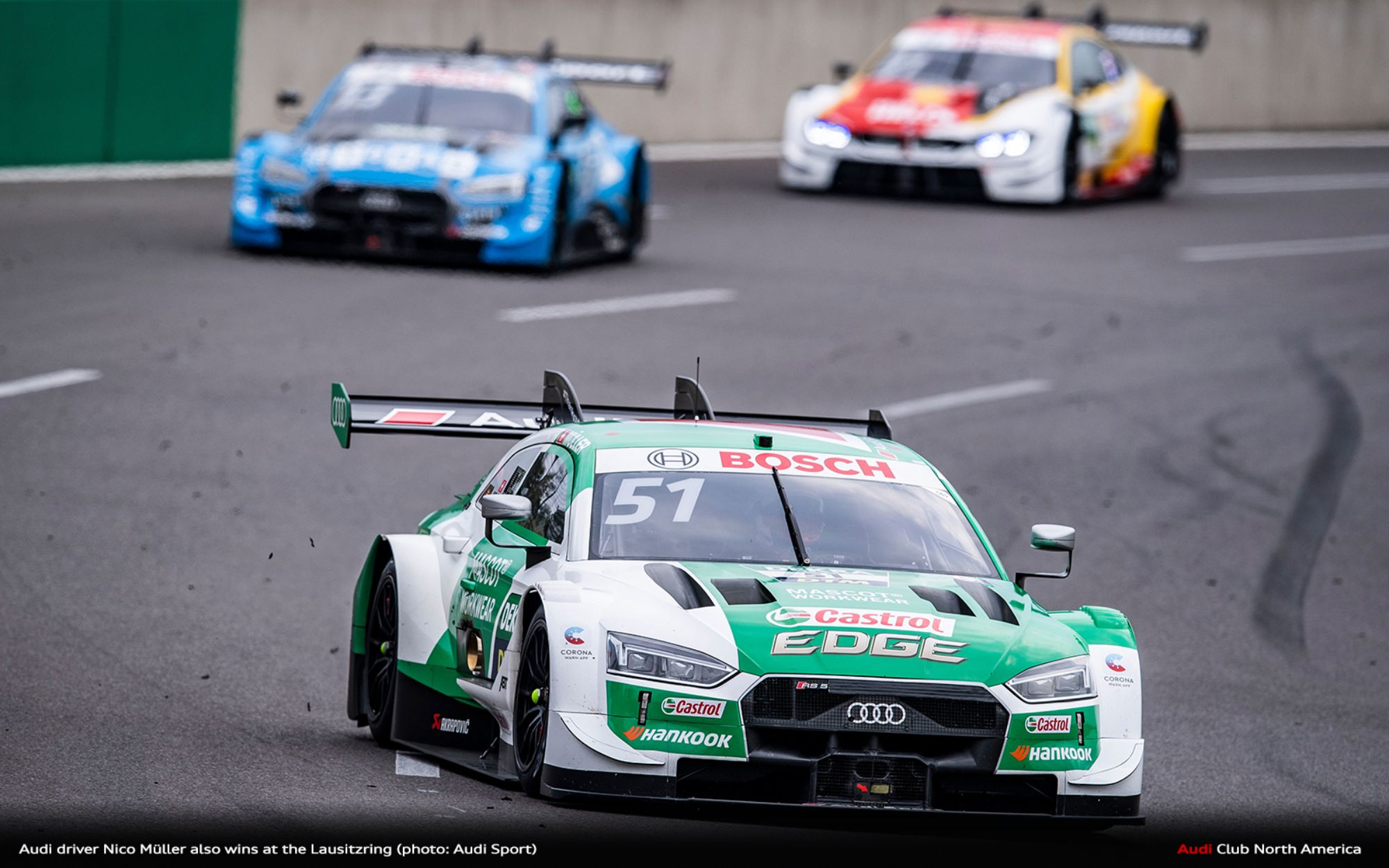 Audi Driver Nico Müller Also Wins at the Lausitzring