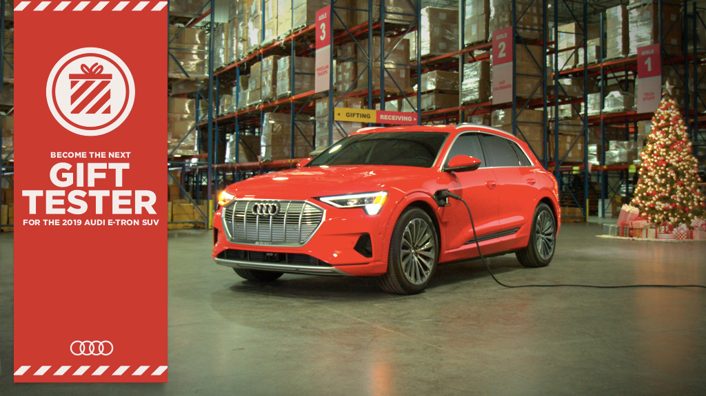 Audi USA with e-tron-Based Holiday Contest