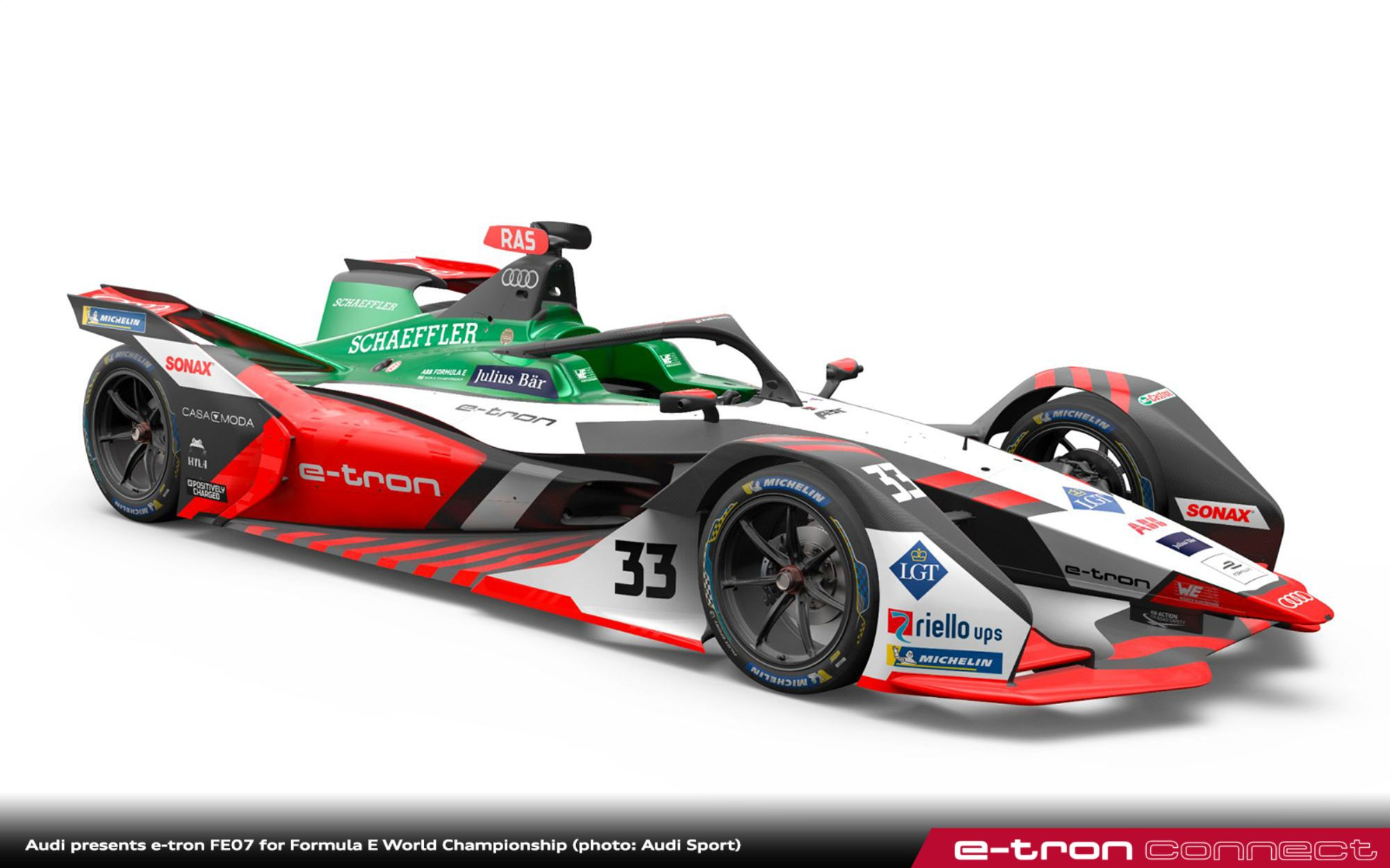 Audi presents e-tron FE07 for Formula E World Championship