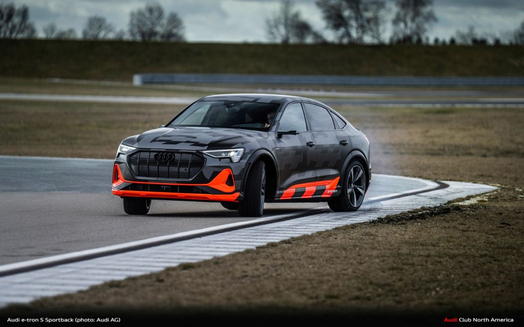 Dynamic, Agile, and Electric: Audi Presents Drive Concept for e-tron S-Models
