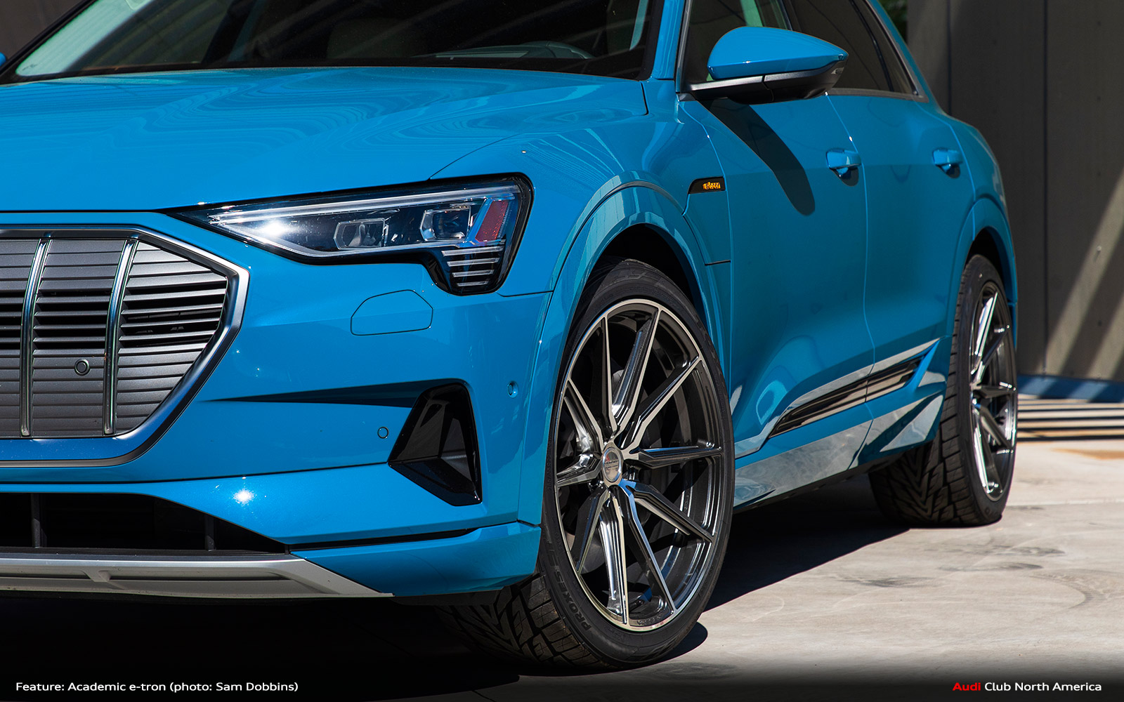 quattro Magazine: Feature Car: Academic e-tron