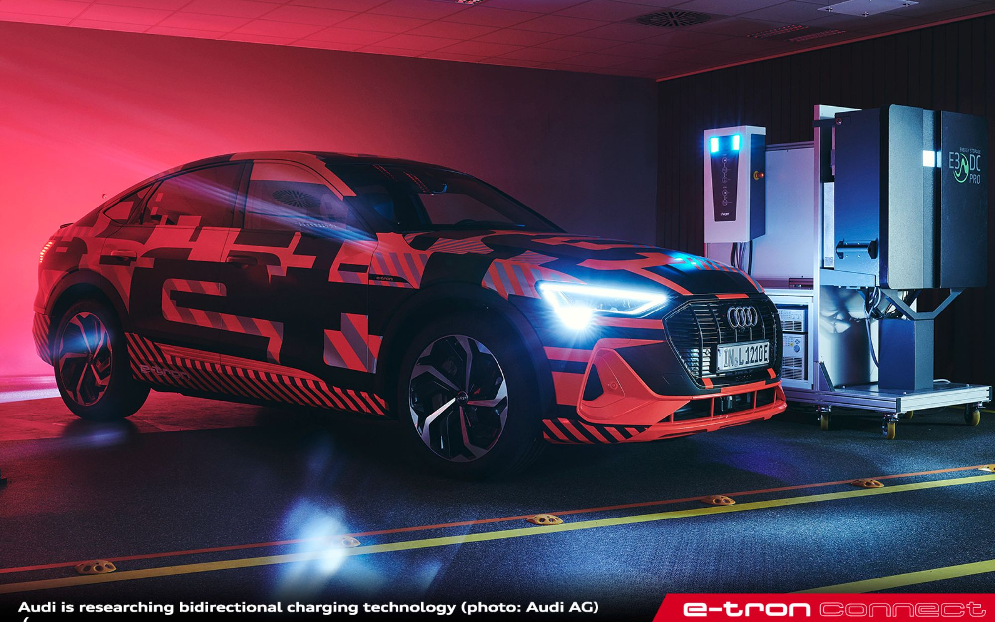 Electric Cars as Part of the Energy Transition: Audi Is Researching Bidirectional Charging Technology