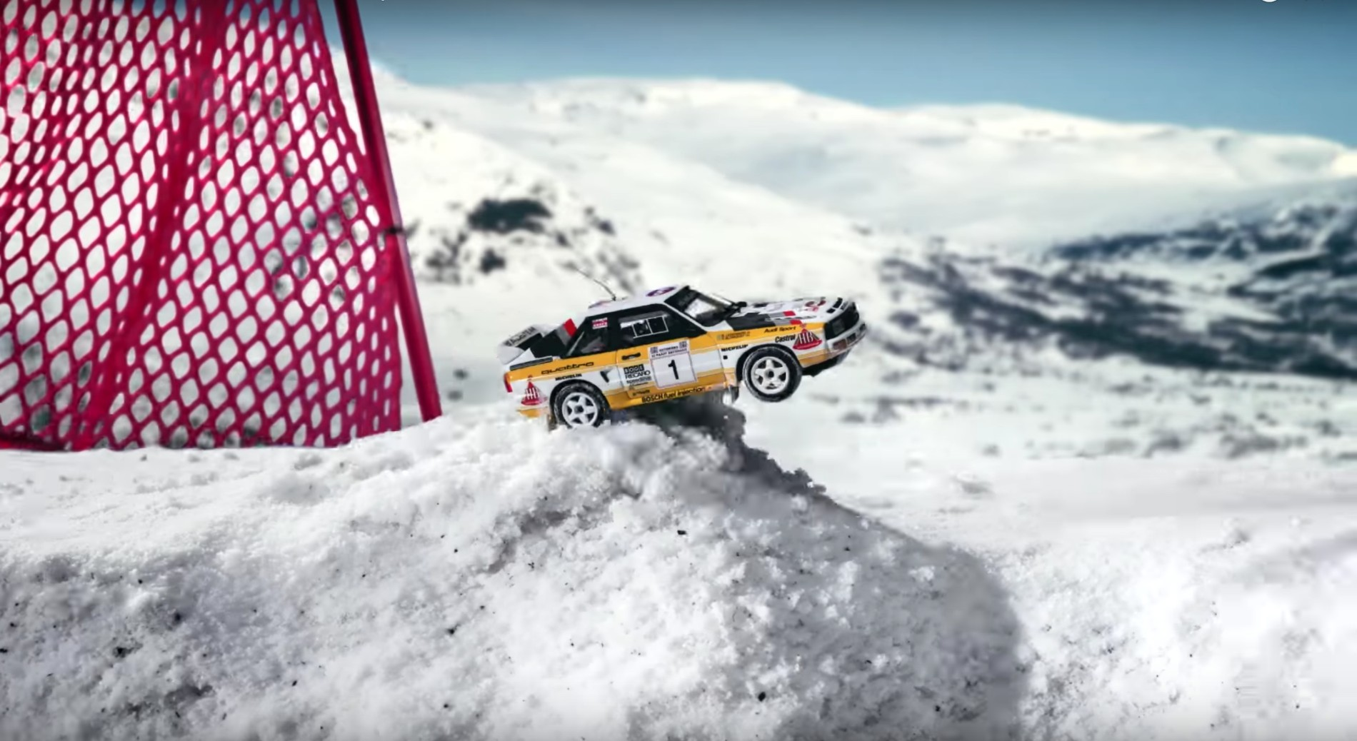 Video: Audi Miniatures Invade Baqueira Beret