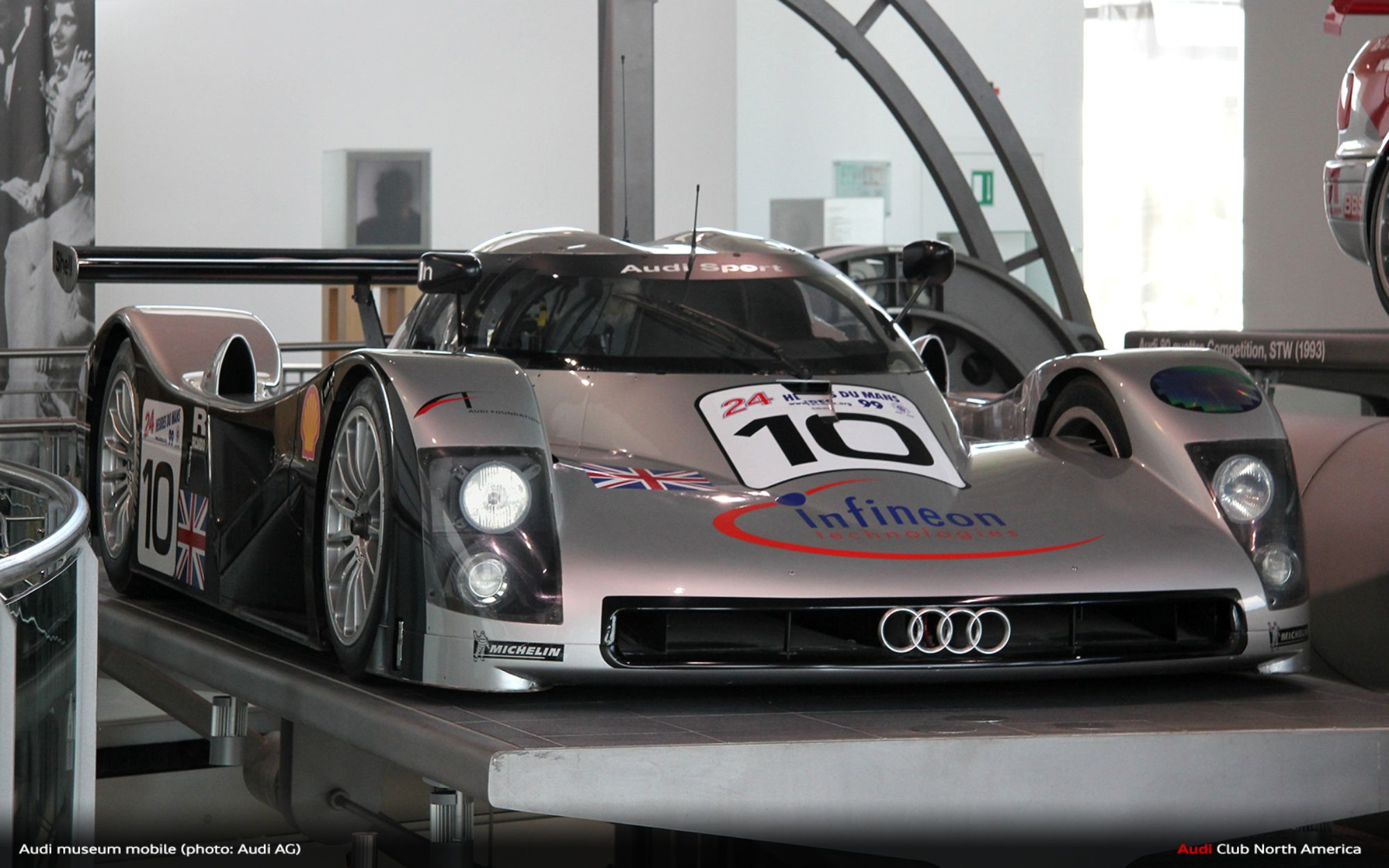 Audi museum mobile at Audi Forum Ingolstadt Has Reopened