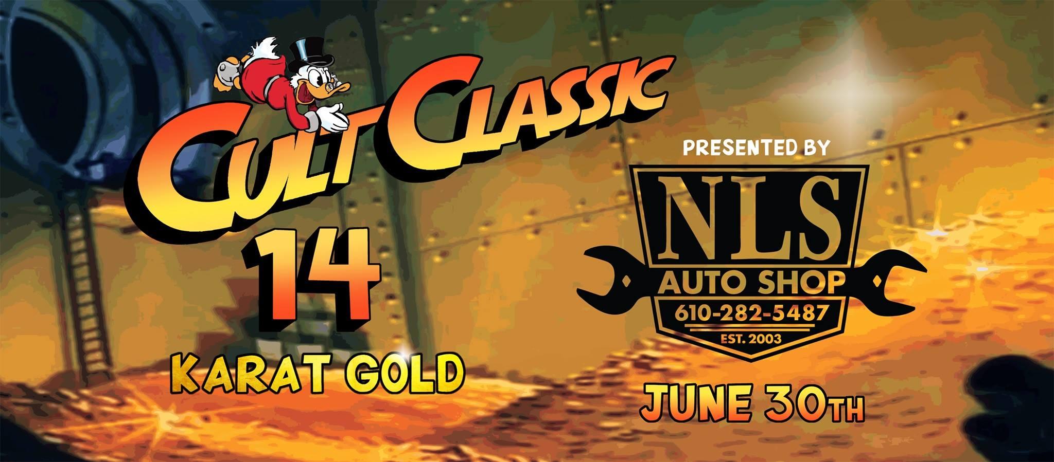 Audi Club Eastern Pennsylvania – Cult Classic car show Sunday, June 30TheCult Classic car showSunday, June 30