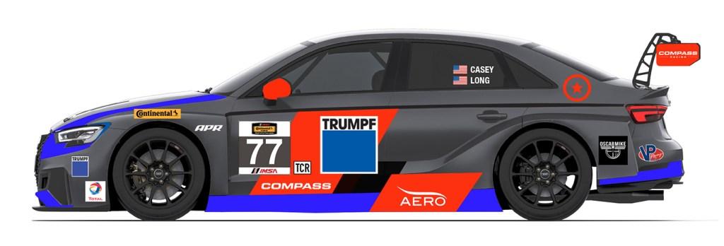 Compass Racing Adds Third Audi TCR Car to IMSA CTSC Effort