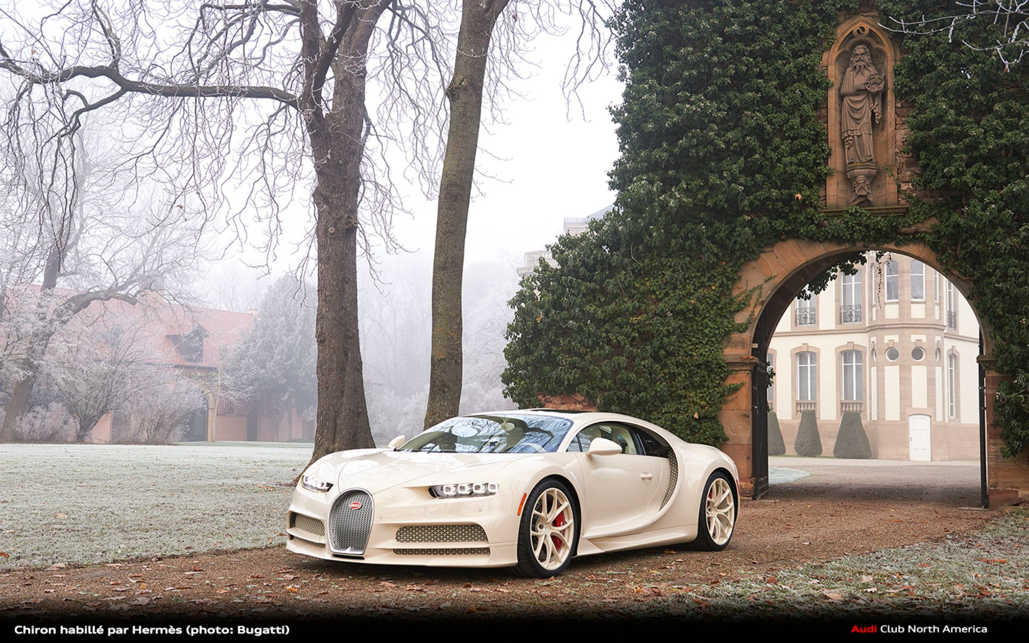 Chiron habillé par Hermès: The Pinnacle of Luxury Created Upon Request by a Bugatti Customer