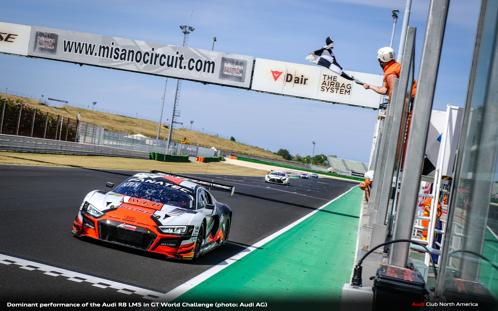 Dominant Performance of the Audi R8 LMS in GT World Challenge