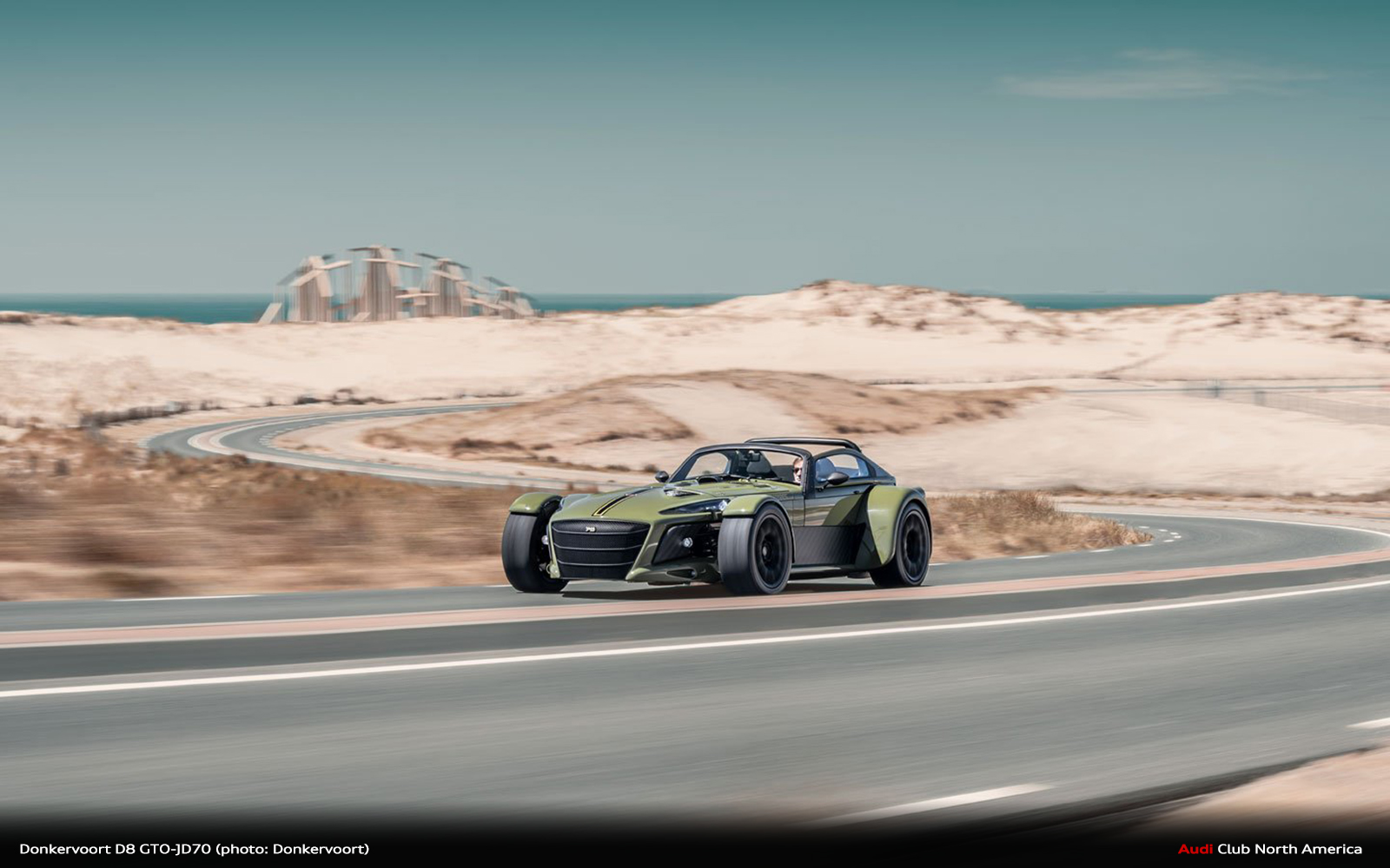 Donkervoort D8 GTO-JD70: The First 2G Super Sports Car