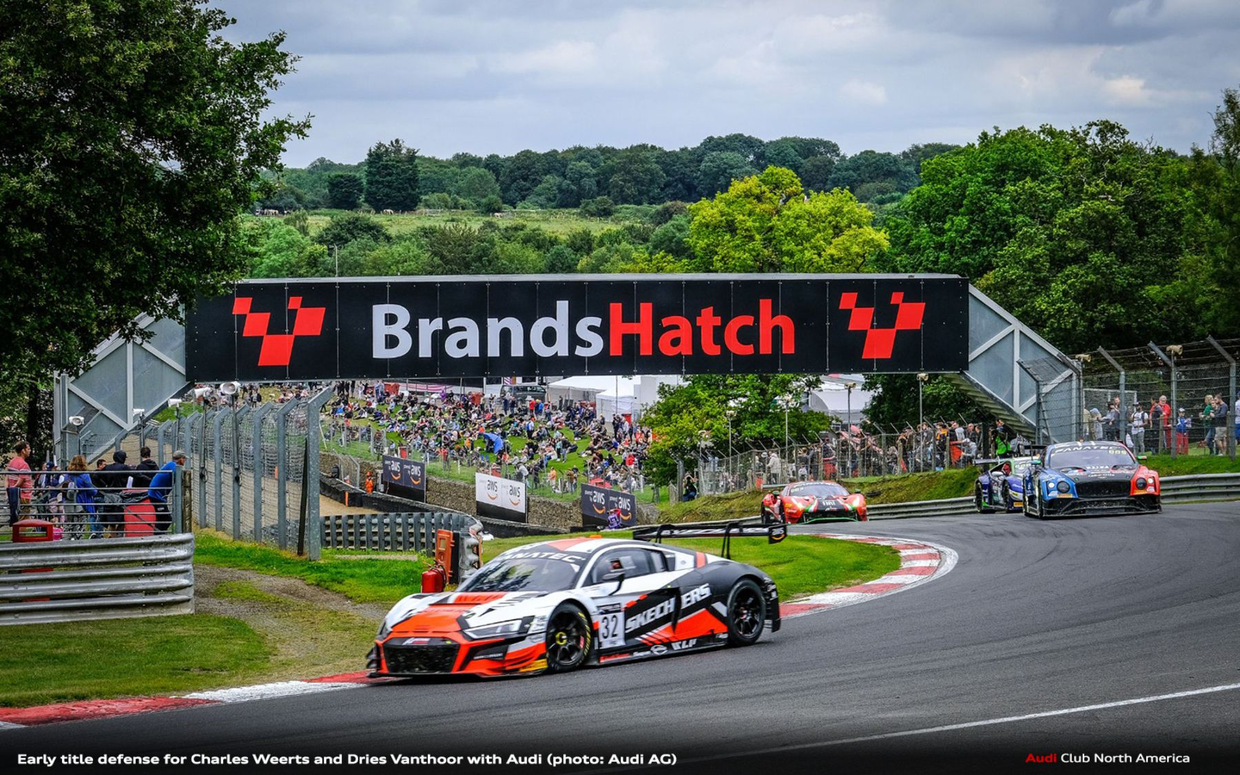 Early Title Defense for Charles Weerts and Dries Vanthoor with Audi