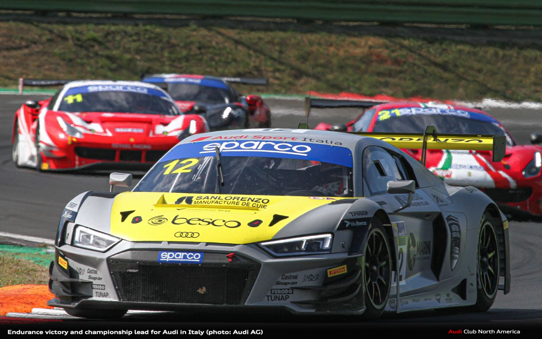Endurance Victory and Championship Lead for Audi in Italy