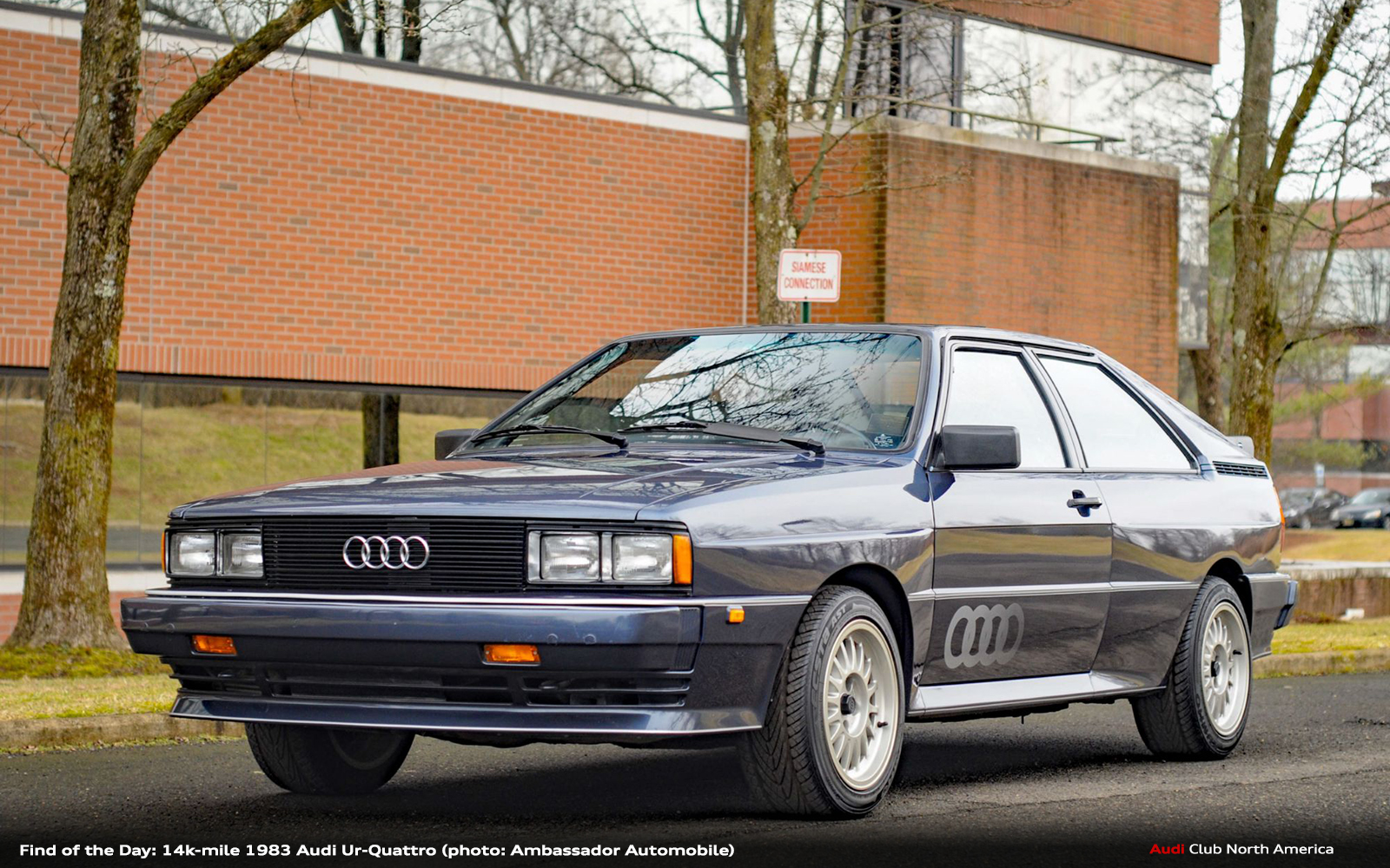 Find of the Day: 14k-mile 1983 Audi Ur-quattro