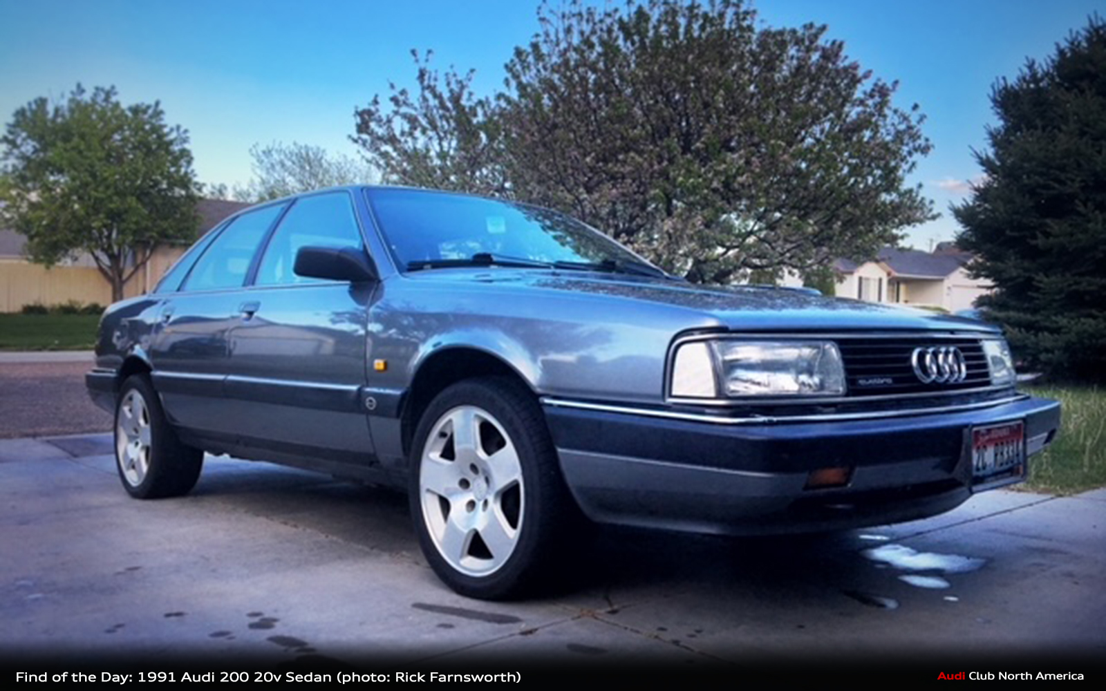 Find of the Day: 1991 Audi 200 20v Sedan