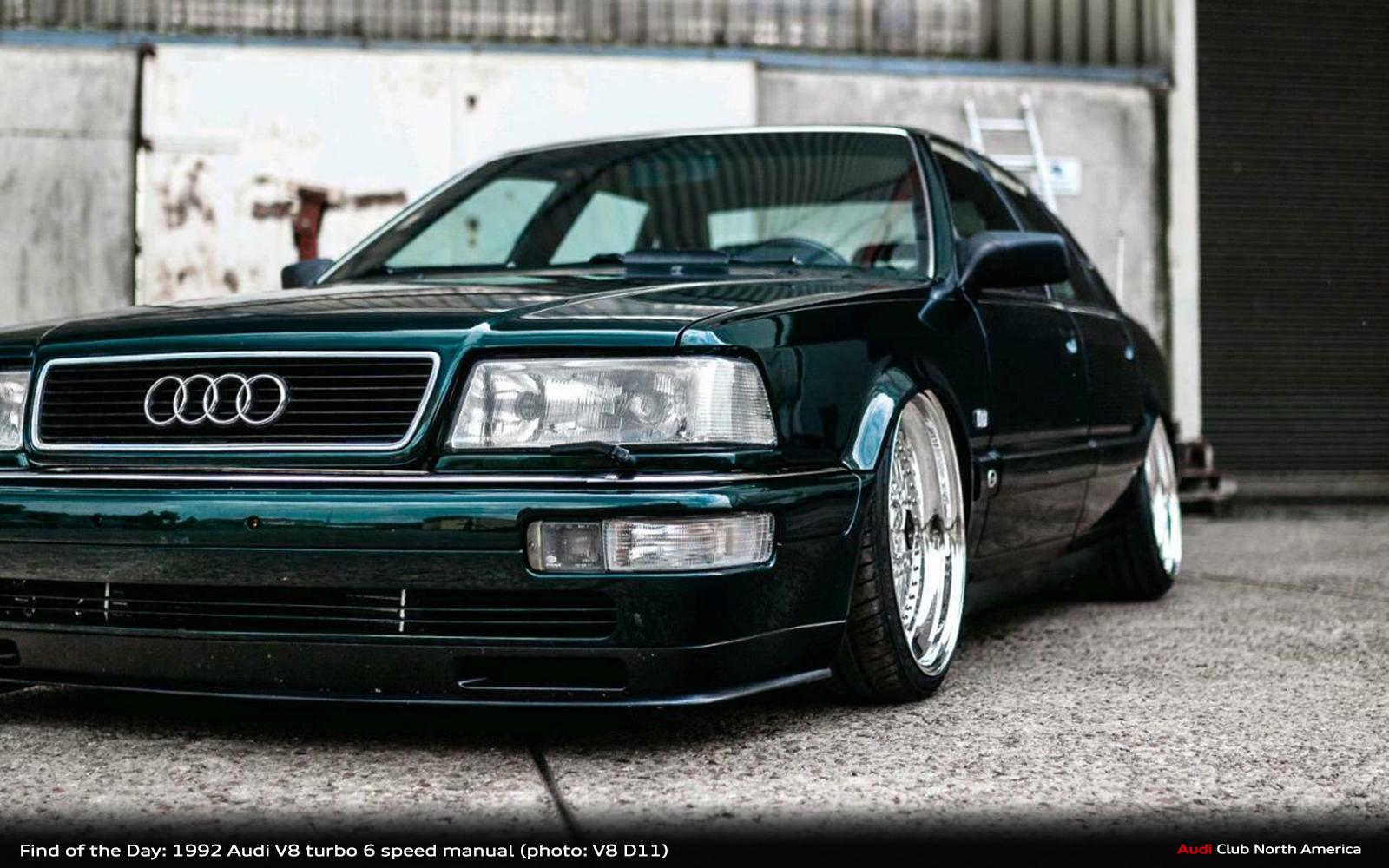 Kelebihan Audi V8 Turbo Spesifikasi