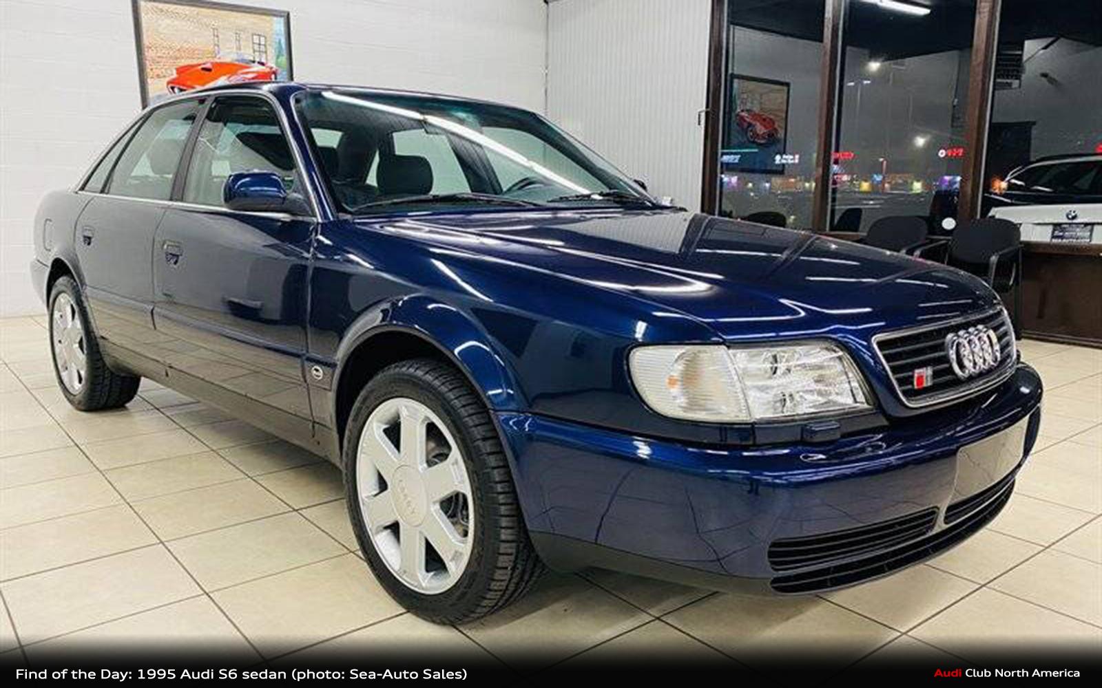 Find of the Day: 1995 Audi S6 Sedan