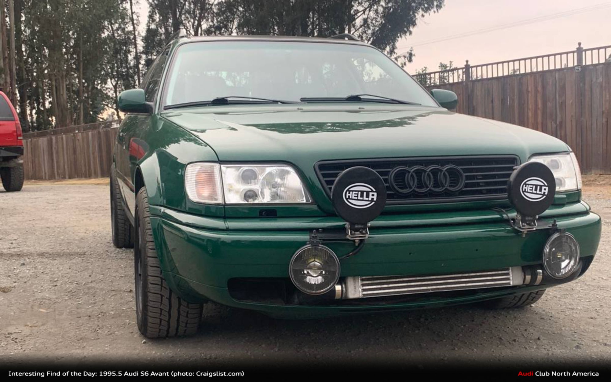 Find of the Day: 1995.5 Audi S6 Avant