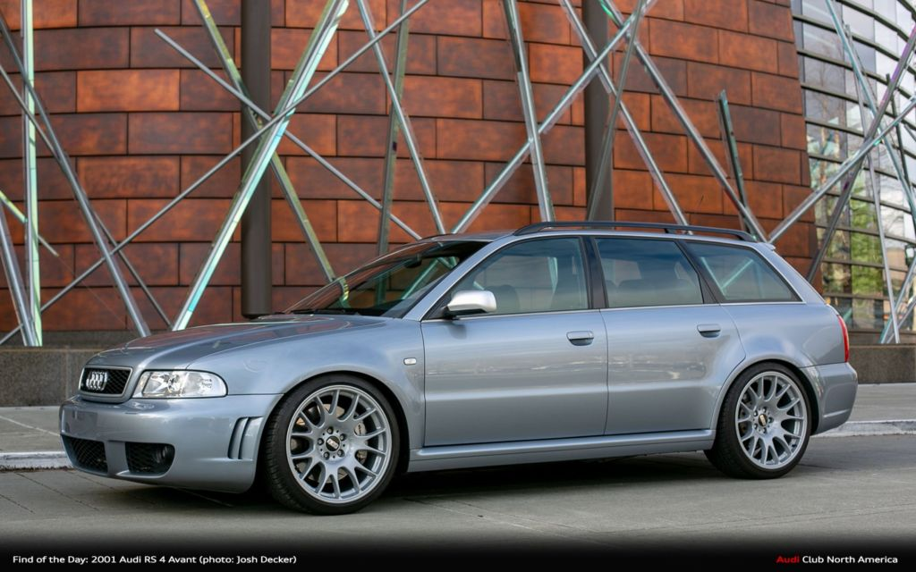 Find of the Day: 2001 Audi RS 4 Avant