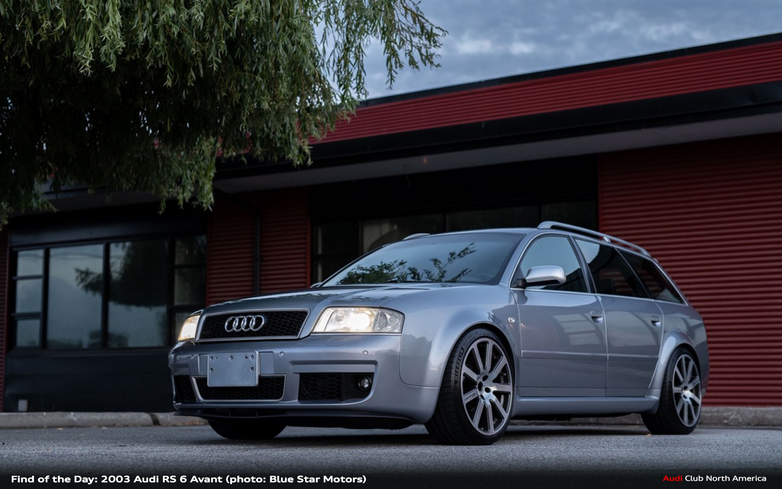 Find of the Day: 2003 Audi RS 6 Avant