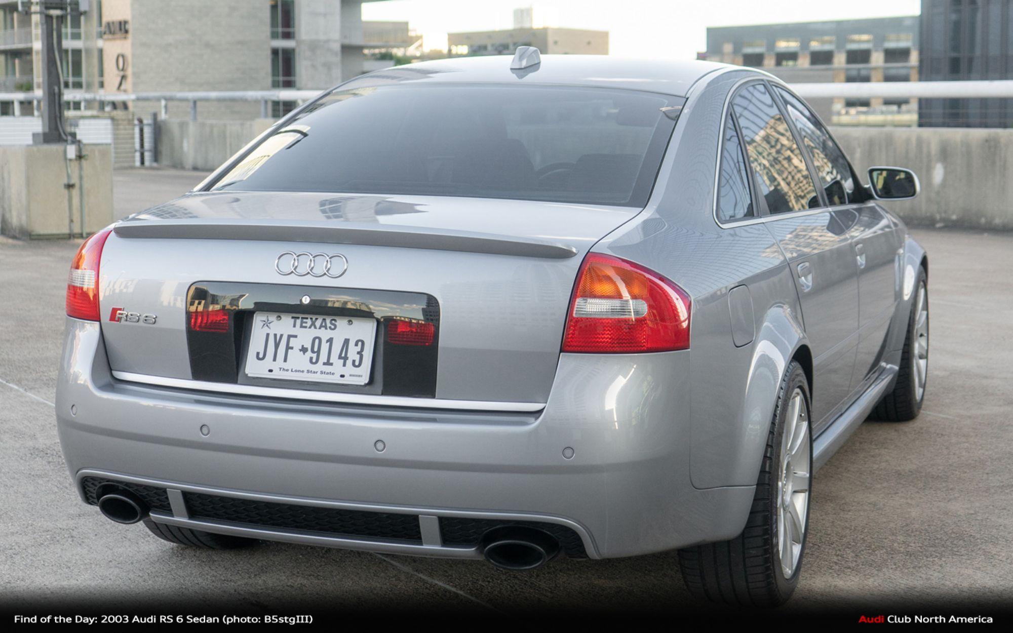 Kekurangan Audi Rs6 2003 Perbandingan Harga