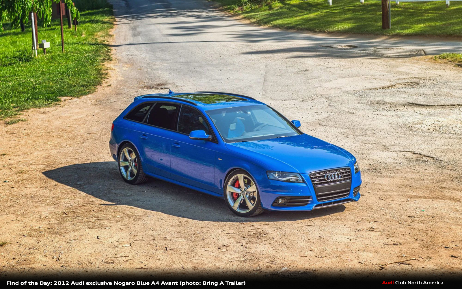 Find of the Day: 2012 Audi exclusive Nogaro Blue A4 Avant
