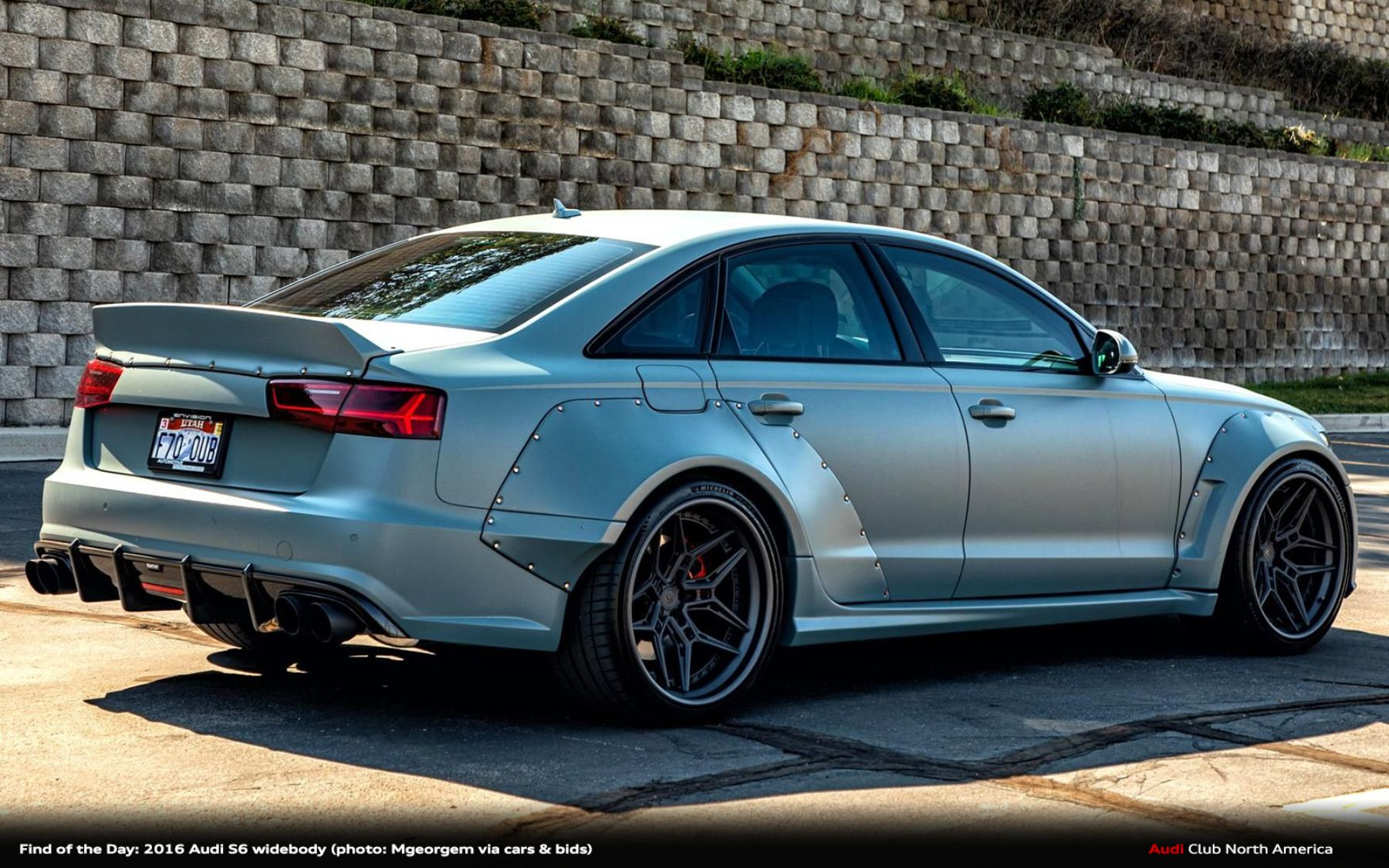 Find of the Day: 2016 Audi S6 Widebody