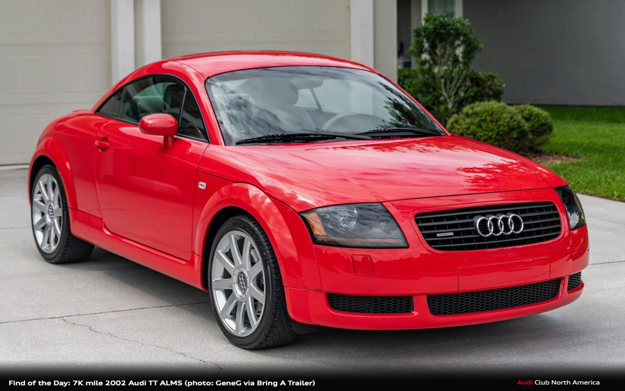 Find of the Day: 7K mile 2002 Audi TT ALMS
