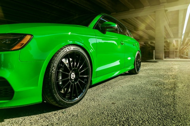 Find of the Day: 2016 Audi exclusive Viper Green S3…a Skittles car with 500hp