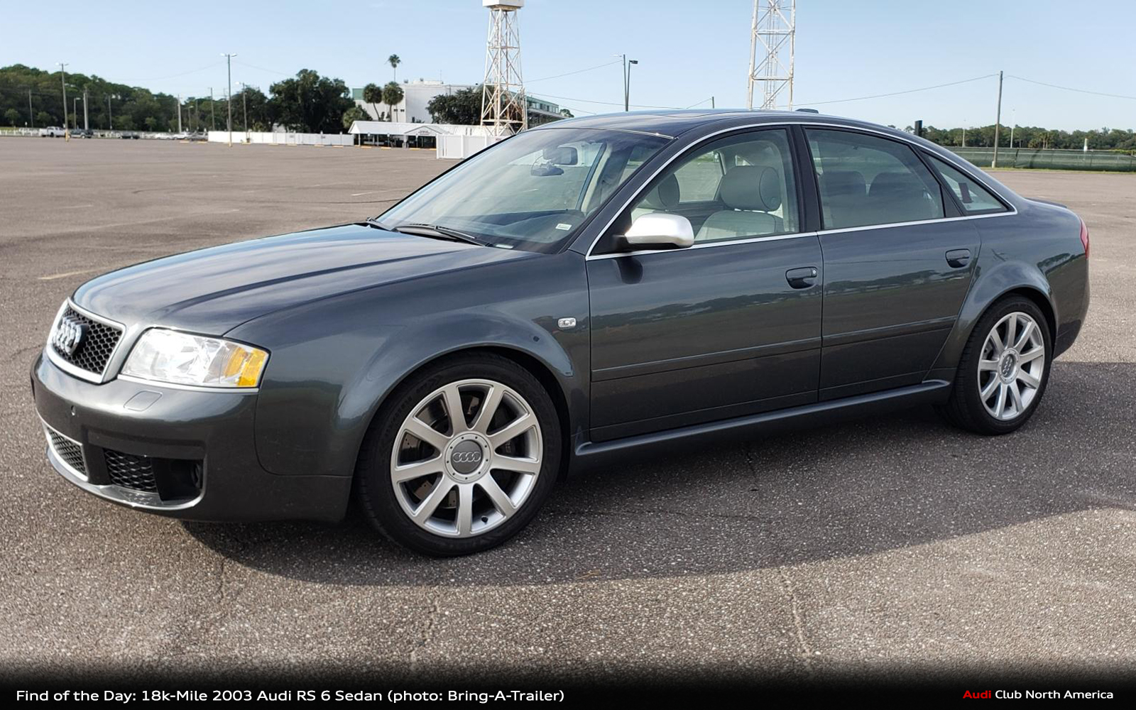 Find of the Day: 18k-Mile 2003 Audi RS 6 Sedan