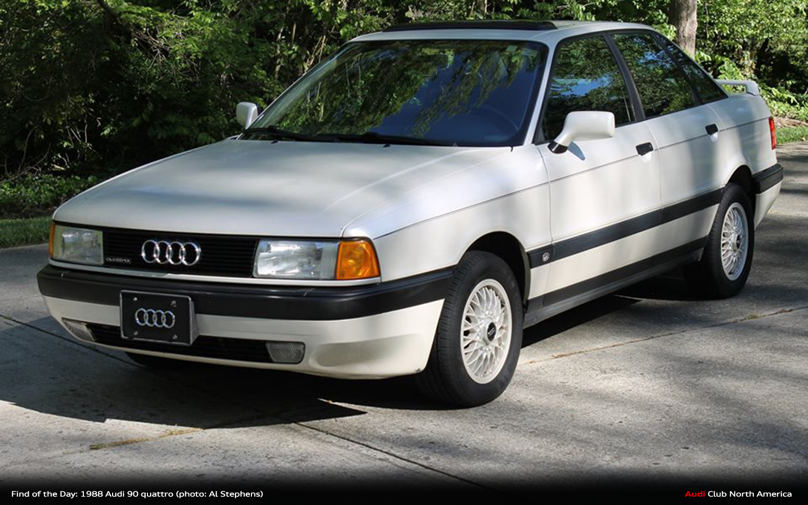 Find of the Day: 1988 Audi 90 quattro