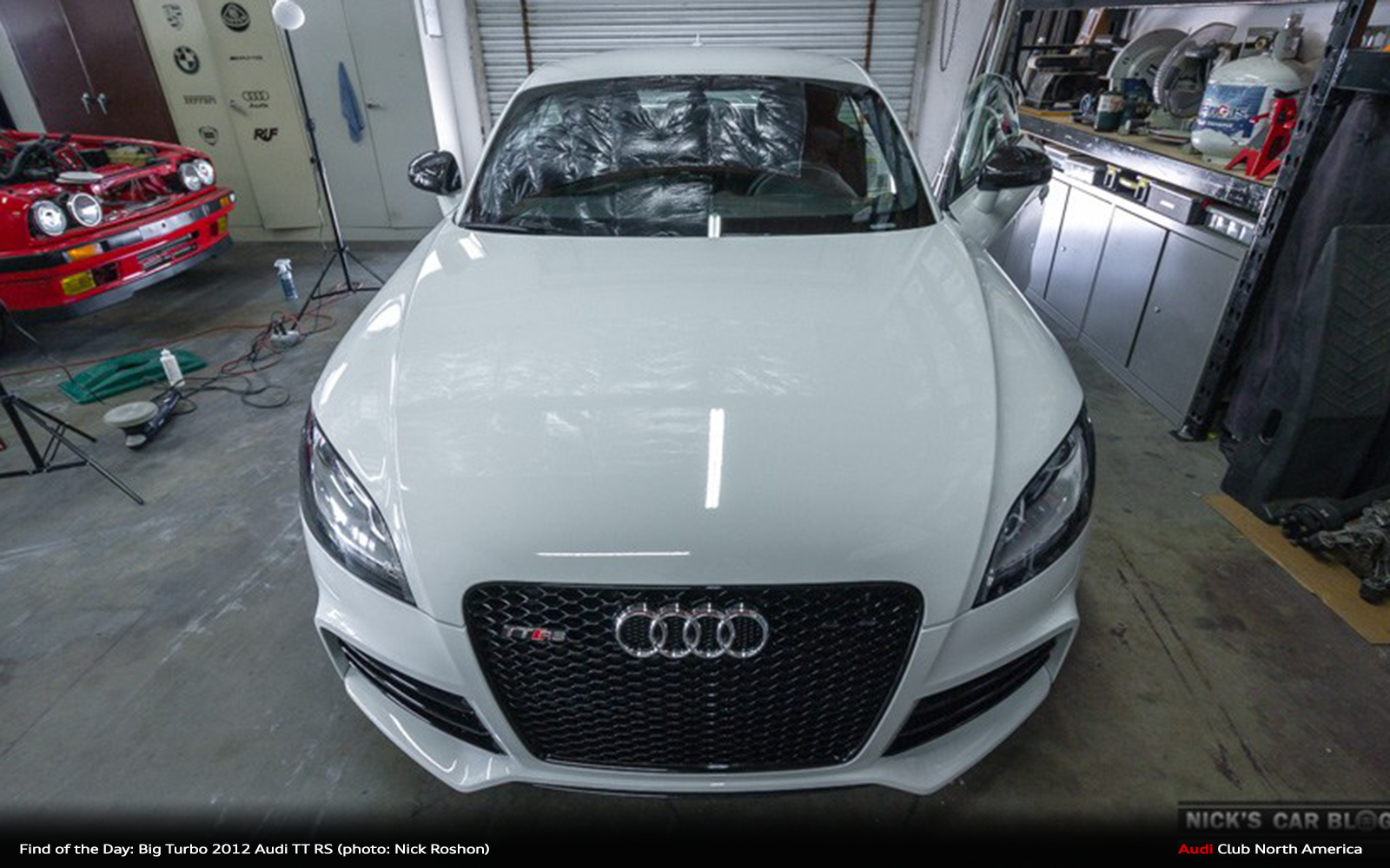 Find of the Day: 2012 Audi TT RS - A Shark in Wolf's Clothing