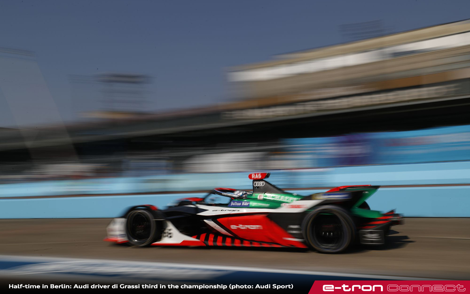 Half-Time in Berlin: Audi Driver di Grassi Third in the Championship