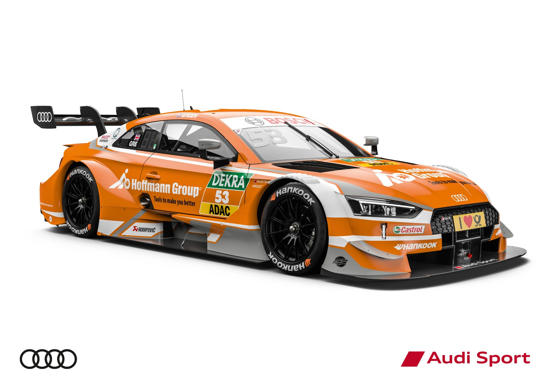 Hoffmann Group Audi RS 5 DTM #53 (Audi Sport Team Rosberg), Jamie Green - Audi Club North America
