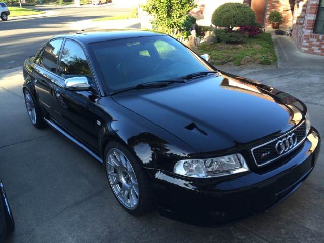 Find of the Day: 2001 B5 S4/RS 4 Widebody Sedan