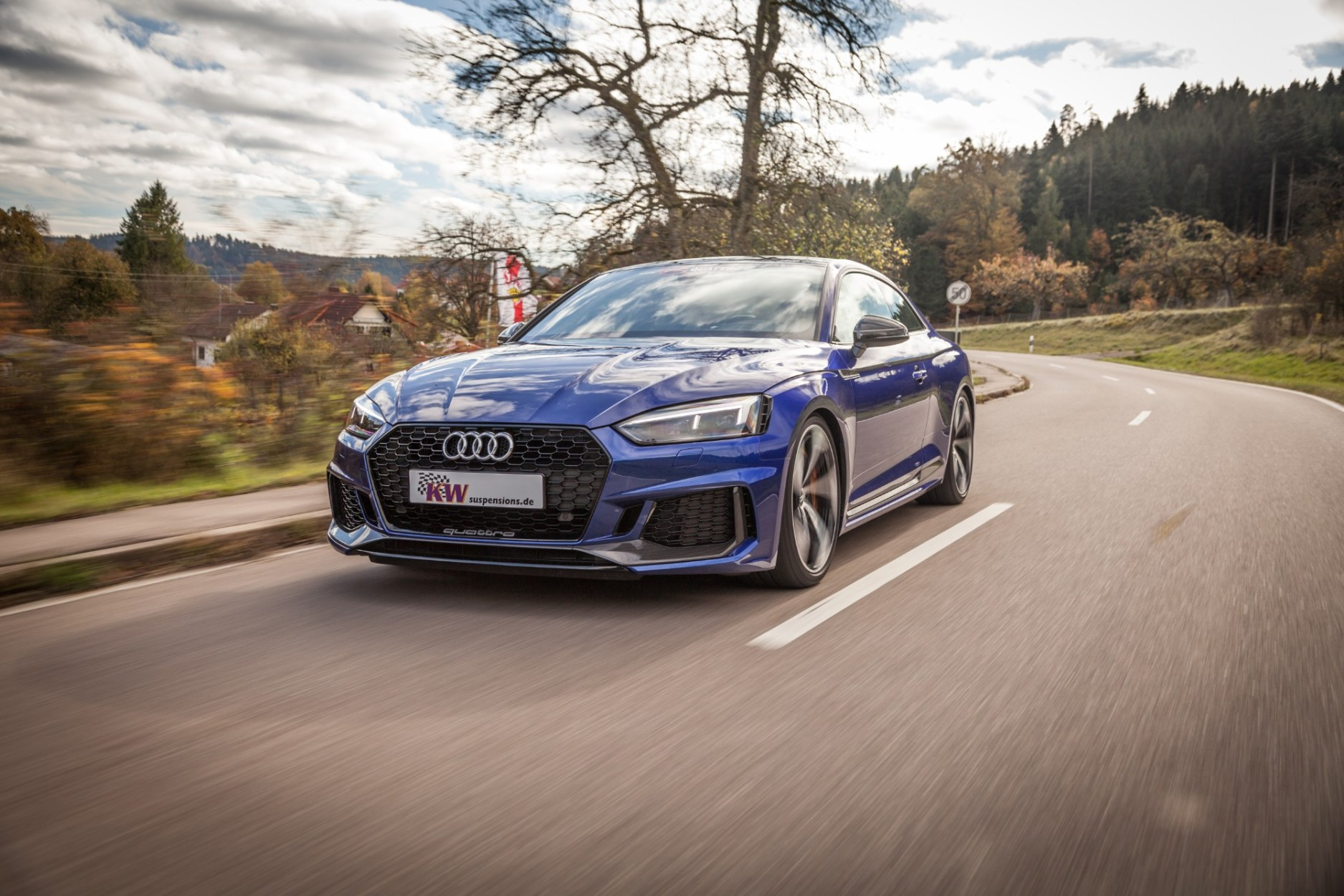The KW Variant 4 Street Performance Coilover Kit Unleashes The Audi RS 5 And Soon Also The Audi RS 4