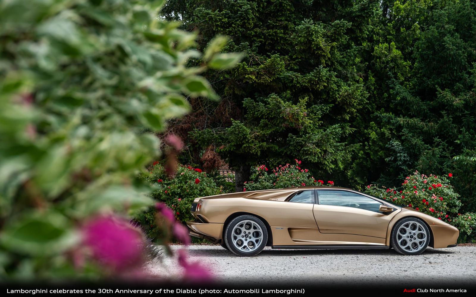 Lamborghini Celebrates the 30th Anniversary of the Diablo