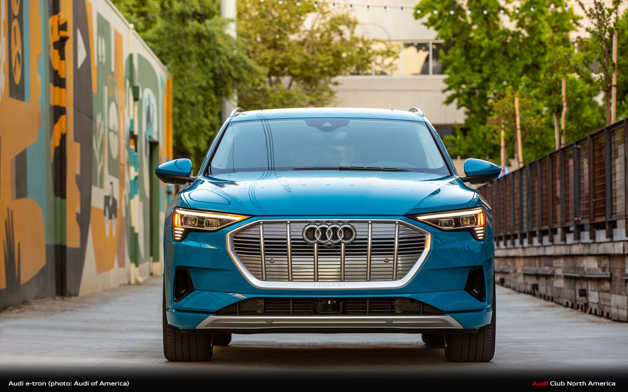 2019 Audi e-tron SUV Awarded Green Car Reports' Best Car To Buy 2020