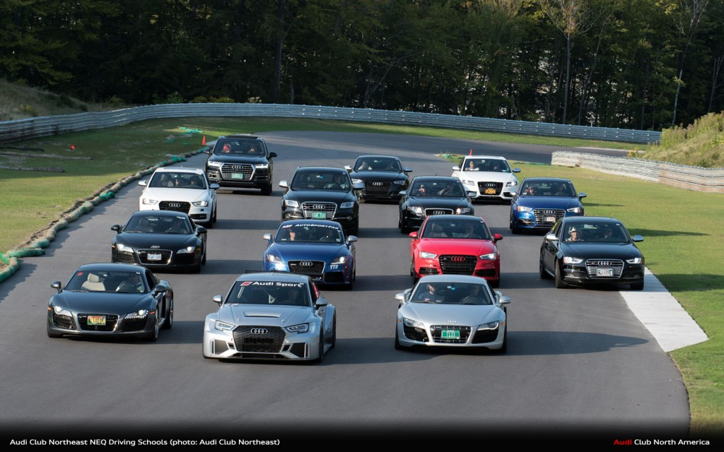 This Is Your Year To Try An Audi Club North America High Performance Driving School With NEQ
