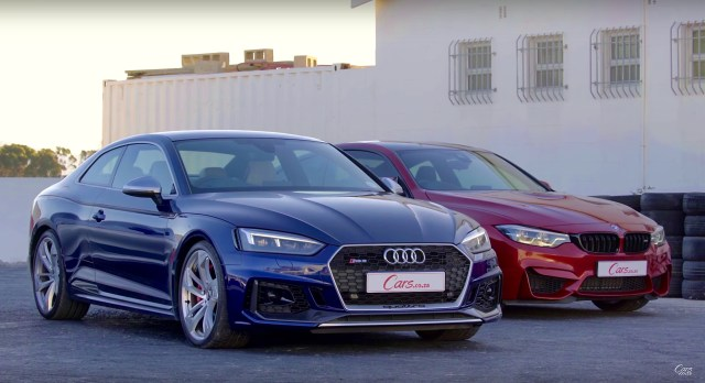 Drag Race Audi Rs 5 Vs Bmw M4 Competition Pack Audi Club North