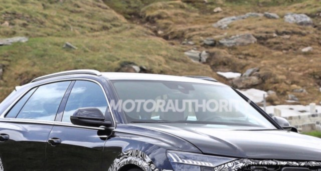 Motor Authority: 2020 RS Q8 Spy Shots