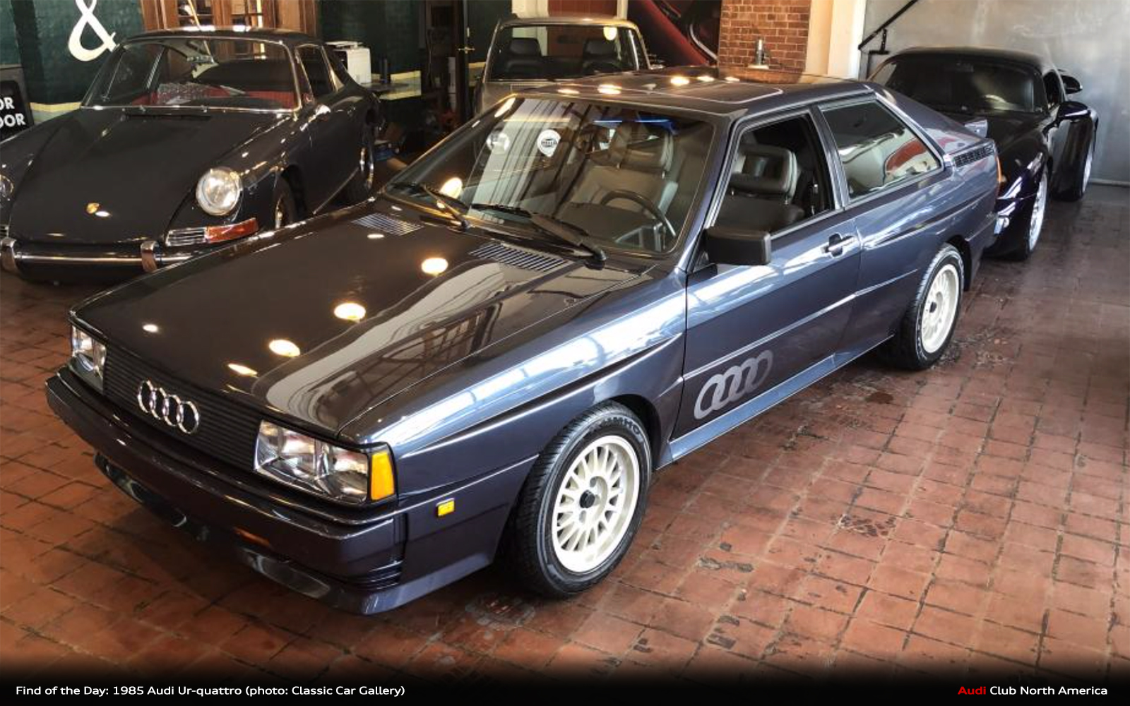 Find of the Day: 1985 Amazon Blue Audi Ur-quattro