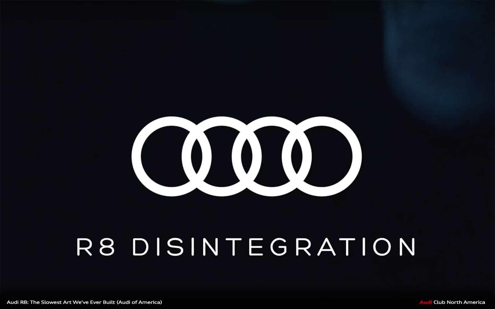 How Do You Celebrate 10 Years of the V10? By Disintegrating an R8 V10