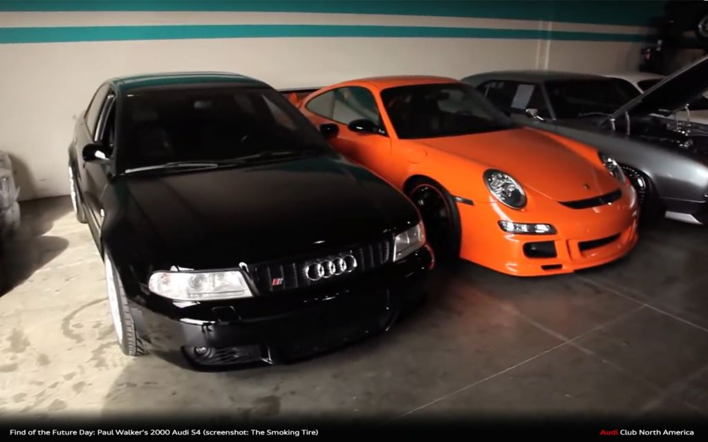 Find of the Future Day: Paul Walker's 2000 Audi S4