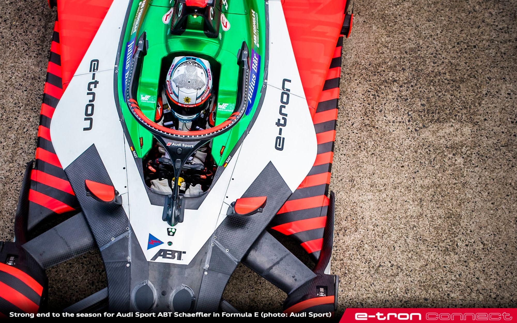 Strong End to the Season for Audi Sport ABT Schaeffler in Formula E