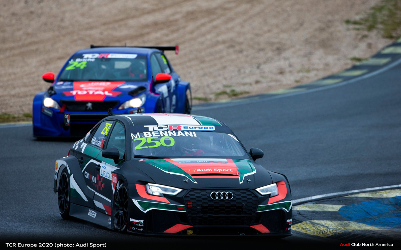 Comtoyou Racing Wins TCR Europe with Audi