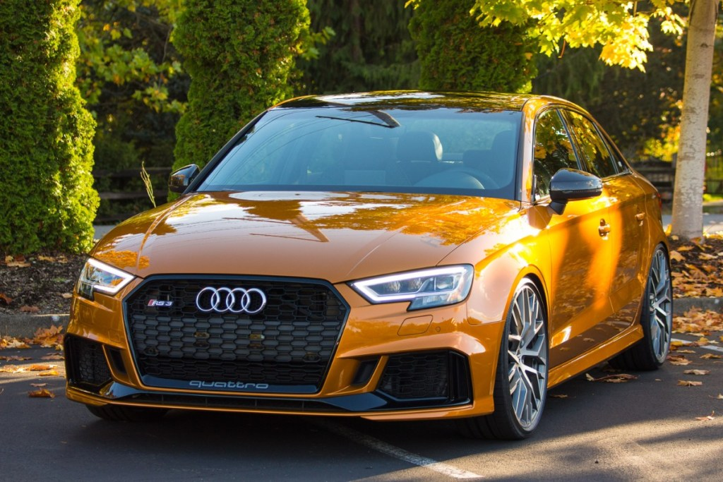 Tequila Sunrise: H&R's Audi exclusive RS 3 Sedan